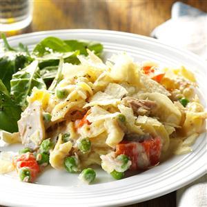 Slow Cooker Tuna Noodle Casserole Recipe