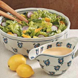 Tossed Salad with Citrus Dressing Recipe