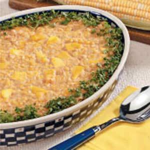 Mango Scalloped Corn Recipe