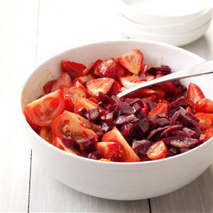 Color It Ruby Salad Recipe