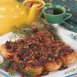 Cranberry Sticky Buns Recipe