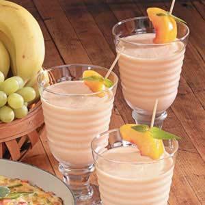 Orange Peach Smoothies Recipe