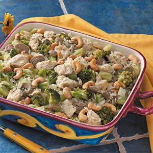 Cashew Chicken with Broccoli Recipe