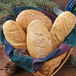 Crusty Mini Loaves Recipe