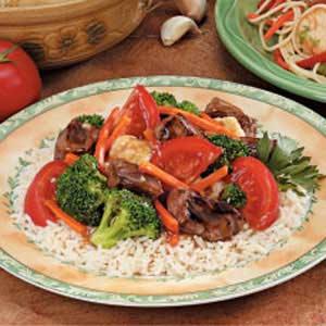 Vegetable Steak Stir-Fry Recipe