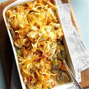 Chicken & Sweet Potato Potpie Recipe