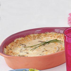Crab Au Gratin Spread Recipe