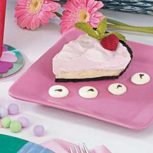 Raspberry Mousse Pie Recipe