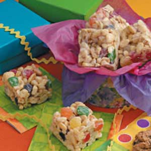 Gumdrop Cereal Bars Recipe