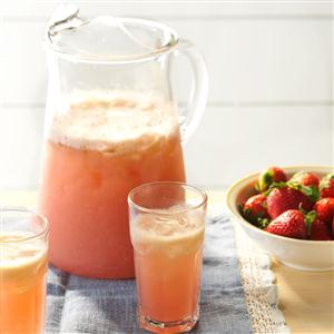 Strawberry-Basil Refresher Recipe