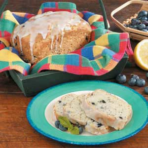 Poppy Seed Blueberry Bread Recipe