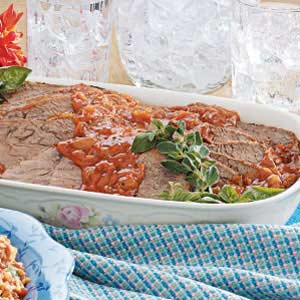 Old-Fashioned Pot Roast with Gravy Recipe