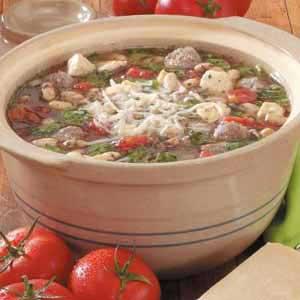 Italian Peasant Soup Recipe