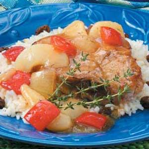 Pear-Fect Pork Supper Recipe