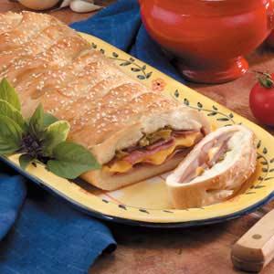 Super Bowl Stromboli Recipe