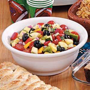 Marinated Veggie Salad Recipe