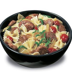 Johnsonville® Sausage Bowtie Pasta Recipe