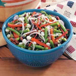 Hominy Bean Salad Recipe