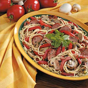 Smoked Sausage with Pasta Recipe