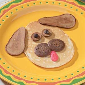 Puppy Dog Pancakes Recipe