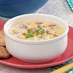 Chicken Cheese Soup Recipe