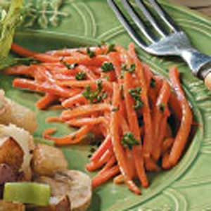 Honey Mustard Carrots Recipe