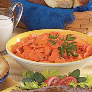 Golden Carrot Coins Recipe