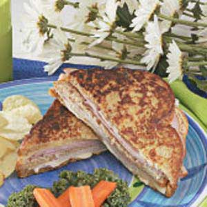 Grilled Triple-Decker Club Recipe
