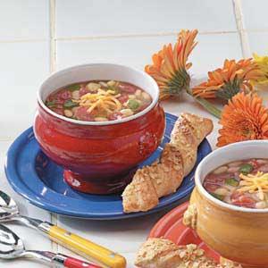 Quick Vegetable Bean Soup Recipe