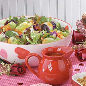Tangy Bacon Salad Dressing Recipe