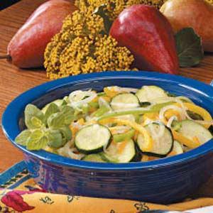 Cheddar Zucchini Medley Recipe