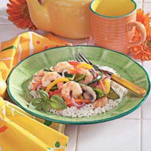Shrimp Vegetable Stir-Fry Recipe