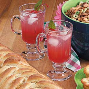 Rhubarb Cooler Recipe