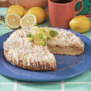 Lemon Curd Coffee Cake Recipe