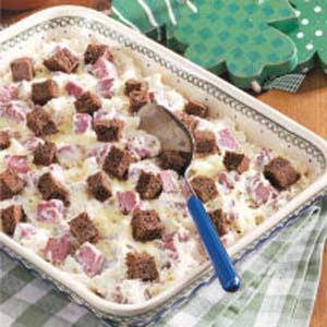 Creamy Reuben Casserole Recipe