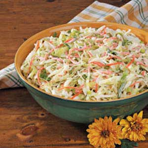 Sweet 'n' Creamy Coleslaw Recipe