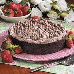 Strawberry Chocolate Torte Recipe