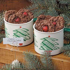 Cherry Chocolate Cookies Recipe