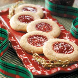 Jelly-Topped Sugar Cookies Recipe