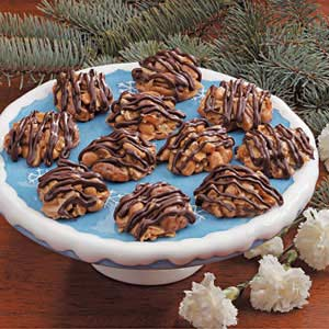 Nutty Caramel Clusters Recipe