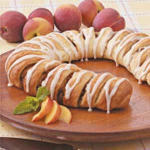 Peach Coffee Cake Recipe
