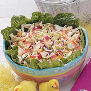 Easter Grass Slaw Recipe