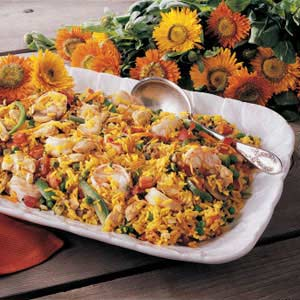 Calendula Paella Recipe