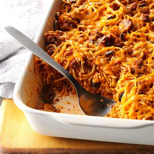 Southwestern Spaghetti Casserole Recipe
