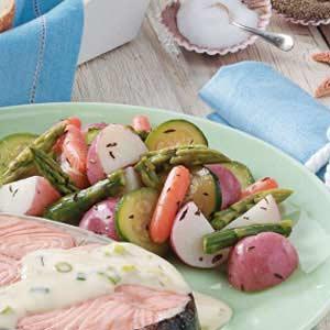 Spring Vegetable Medley Recipe