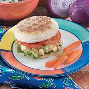 Toasted Almond Chicken Salad Sandwiches Recipe