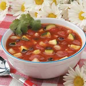 Black Bean Zucchini Gazpacho Recipe
