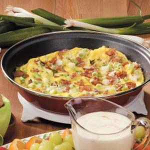 Garlic Zucchini Frittata Recipe