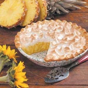 Pineapple Meringue Pie Recipe