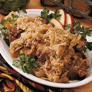 Country Pork 'n' Sauerkraut